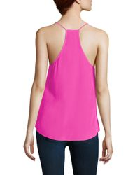 Cami NYC | Pink Racer Camisole | Lyst