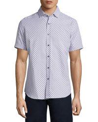 Robert Graham | White Cato Woven Shirt for Men | Lyst