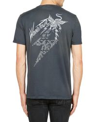 Givenchy - Black K-world Tour Print Tee for Men - Lyst