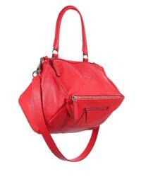 Givenchy - Red Pandora Medium Leather Shoulder Bag - Lyst