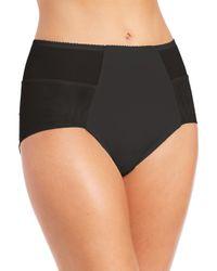 Fortnight Black Seamless High-waist Bikini Brief