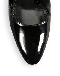 Manolo Blahnik | Black Majusa 105 Patent Leather Pumps | Lyst