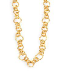 Stephanie Kantis - Metallic Coronation Large Chain Necklace/42 - Lyst