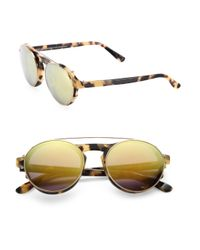 Westward Leaning - White 49mm Clip-on Lens Sunglasses - Lyst