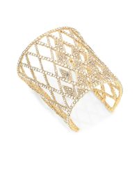 Alexis Bittar - Metallic Elements Crystal Lattice Cuff - Lyst