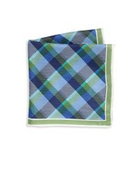 Saks Fifth Avenue | Green Collection Multi-color Plaid Silk Pocket Square for Men | Lyst