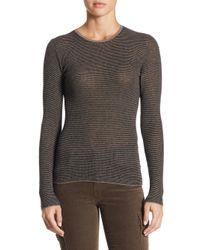 Vince - Multicolor Skinny Cashmere Mallard Sweater - Lyst