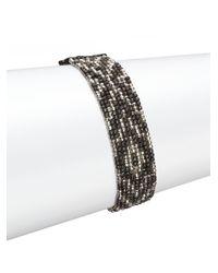 Chan Luu - Multicolor Chevron Beaded Bracelet - Lyst