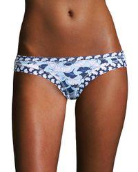 OndadeMar - Blue Lotto Bikini Bottom - Lyst