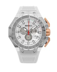 Brera Orologi - Metallic Gran Turismo Swiss Quartz Strap Watch - Lyst