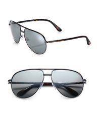 Tom Ford - Metallic Cole Metal Aviator Sunglasses for Men - Lyst