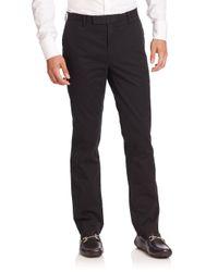 Polo Ralph Lauren - Black Hudson Slim-straight Pants for Men - Lyst