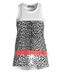 c1491c3aa94e adidas By Stella McCartney. Essentials Leopard Tank Cz3850 (white) Women s  Clothing