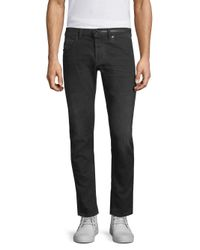 Diesel Black Gold - Black Dbg Side Stripe Slim-fit Jeans for Men - Lyst