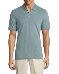 AG Green Label - Green Mensa Heathered Polo for Men - Lyst
