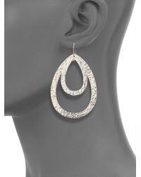 Stephanie Kantis - Metallic Paris Double Teardrop Earrings - Lyst