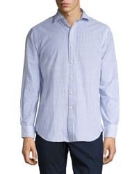 Polo Ralph Lauren - Blue Striped Estate Shirt for Men - Lyst