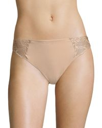 Wacoal - Natural Lace Impression High-cut Brief - Lyst