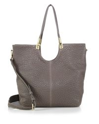 Elizabeth and James - Gray Cynnie Convertible Tote - Lyst