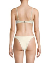 Solid & Striped - Natural Hollywood Balconette Bikini Top - Lyst