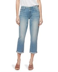 PAIGE - Blue Jimmy Jimmy High-rise Jeans - Lyst