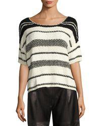 Polo Ralph Lauren - Multicolor Boxy Cotton-blend Sweater - Lyst