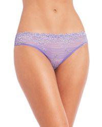 Wacoal | Blue Embrace Lace Bikini | Lyst