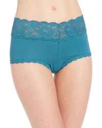 Cosabella - Blue Never Say Never Ultra-stretch Boyshorts - Lyst