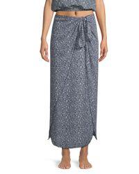 Cool Change - Blue Nuelle Wrap Skirt - Lyst