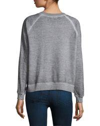 Wildfox - Gray Ooh La La Sweatshirt - Lyst