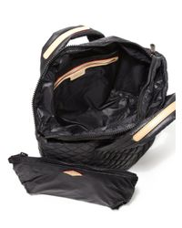MZ Wallace - Black Metro Small Quilted Nylon Tote - Lyst