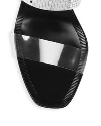 Pedro Garcia - Metallic Xara Slip-on Sandals - Lyst