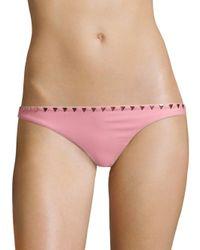 Same Swim - Pink The Saks Bikini Bottom - Lyst