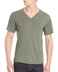 Splendid Mills - Multicolor V-neck Short Sleeve Tee for Men - Lyst