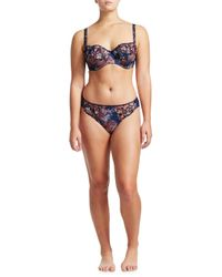 Fantasie - Blue Erica Vertical Seam Support Bra - Lyst