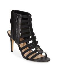 Saks Fifth Avenue - Black Deanna Caged Sandals - Lyst