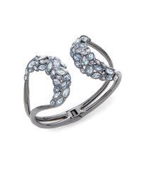 Alexis Bittar - Metallic Miss Havisham Liquid Crystal Broken Glass Hinged Bracelet - Lyst