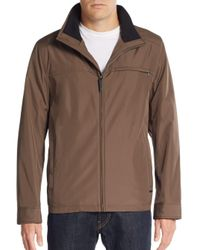 Calvin Klein | Brown Water-resistant Jacket for Men | Lyst