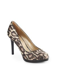 Bandolino - Multicolor Printed Platform Pumps - Lyst