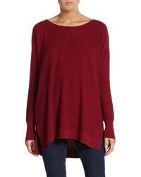 Joie   Red Zephyrine Drop-shoulder Sweater   Lyst