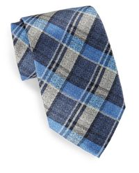 Burma Bibas | Blue Plaid Silk Tie & Gift Box for Men | Lyst