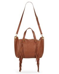 Steve Madden - Brown Blucyy Fringe Shoulder Bag - Lyst