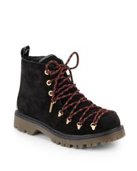 Circus by Sam Edelman - Black Kane Suede Ankle Boots - Lyst