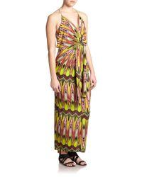 T-bags | Multicolor Jersey Multi-print Maxi Dress | Lyst