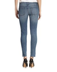The Kooples - Blue Skinny Ankle Jeans - Lyst