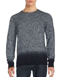 Vince | Black Ombrè Marled Cashmere Sweater for Men | Lyst