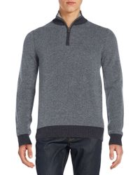 Saks Fifth Avenue | Gray V-neck Cashmere Sweater for Men | Lyst