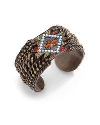 Joanna Laura Constantine   Multicolor Cuff Bracelet   Lyst