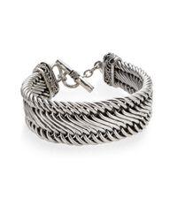 Lois Hill - Metallic Sterling Silver Figure 8 Bracelet - Lyst