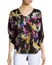 Yumi Kim | Multicolor Lizzie Floral Print Top | Lyst